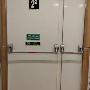 Porta Anti Chama